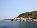 Камень в форме головы черепахи (остров №6)